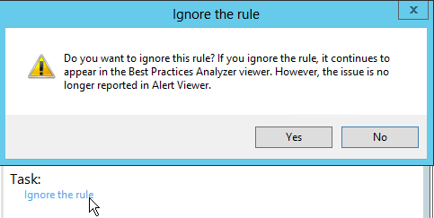 Ignore-the-rule