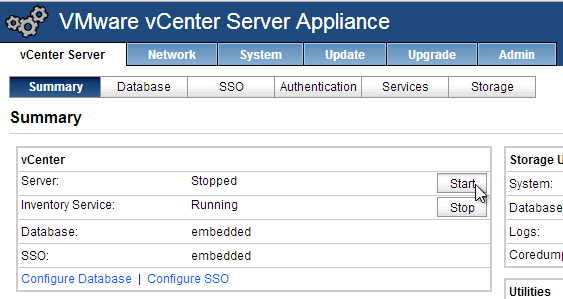 vcenter-appliance-summary-start