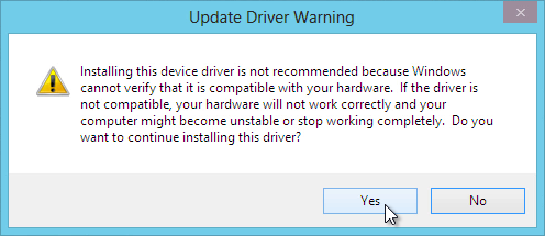 Update-Driver-Warning