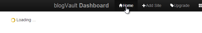 if-blogVault-Dashboard-gets-stuck-at-Loading-for-a-while-click-the-Home-icon