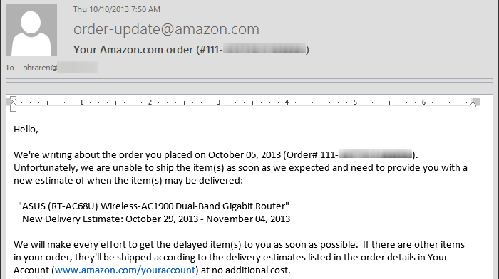 Oct-10-2013-750-am-EDT-Amazon-email-confirming-ASUS-RT-AC68U-delayed
