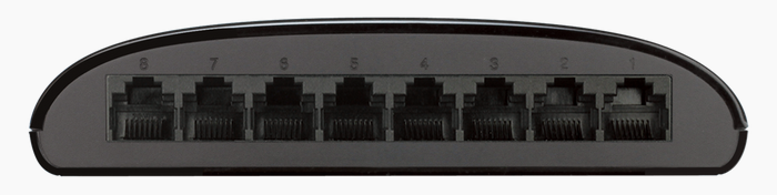 DGS-1008G-view-of-8-ports-note-no-power-supply-port-on-rear-unlike-older-Amazon-photos