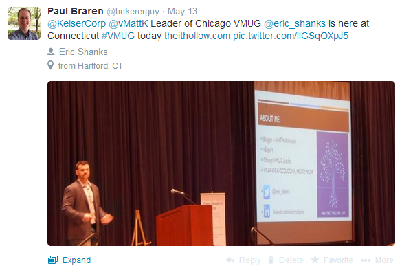 tweet-about-Eric-Shanks-keynote-at-VMUG-Connecticut