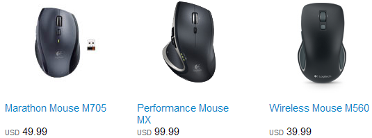 Compare-Logitech-Mice-Marathon-Mouse-M705-Performance-Mouse-MX-Wireless-Mouse-M560