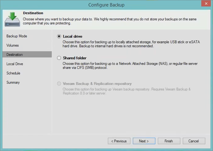 Veeam-Endpoint-Backup-FREE-Configure-Backup-dialogue
