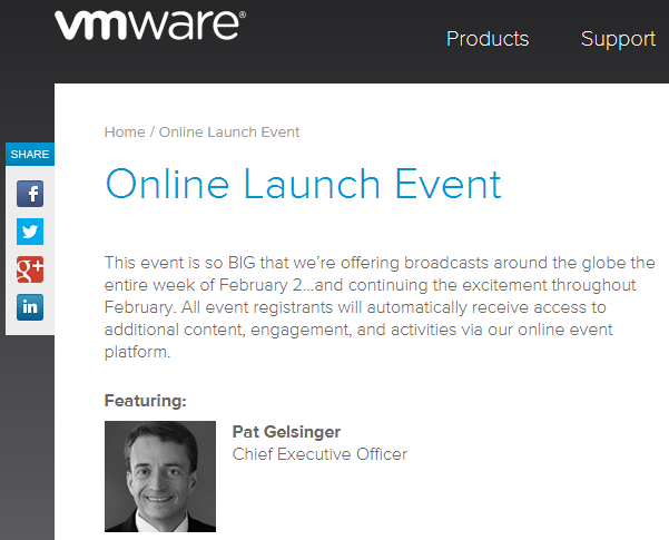 Online-Launch-Event