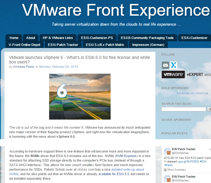 VMware_Front_Experience_NVMe_mention