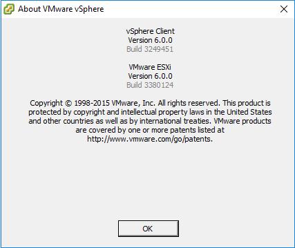 vSphereClient