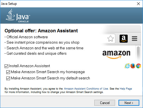 Oracle_Java_offers_Amazon_Assistant