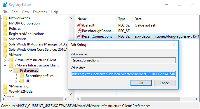 how-to-find-RecentConnections-in-registry