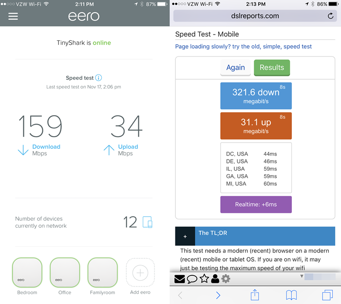 eero-speed-results-versus-dslreports-results-reported-by-TinkerTry-on-Nov-17-2016-at-213pm.PNG