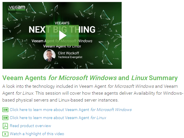 Veeam-Agents