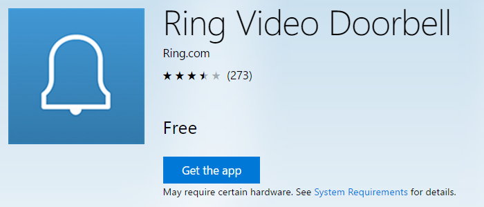 RingVideoDoorbellWindows