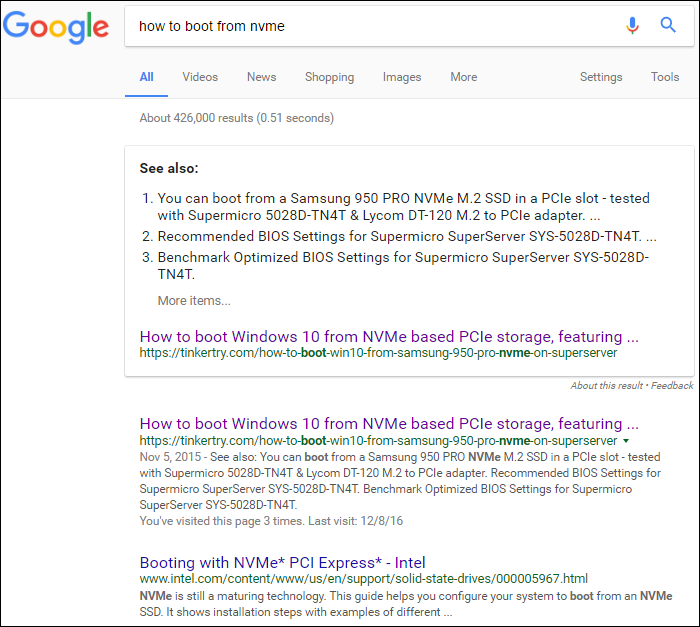 how-to-boot-from-NVMe-google-search-Jan-02-2017
