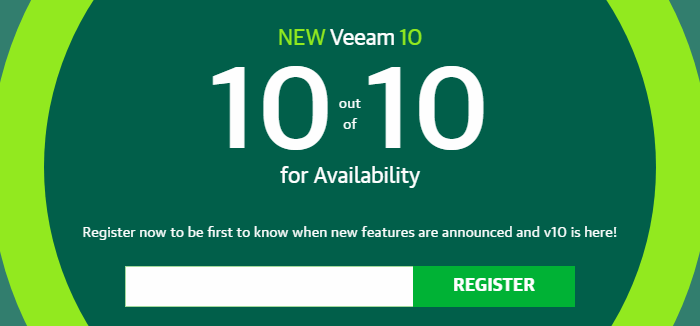New-Veeam-10-register-to-be-notified