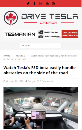 teslas-fsd-beta-obstacles-side-of-road-border