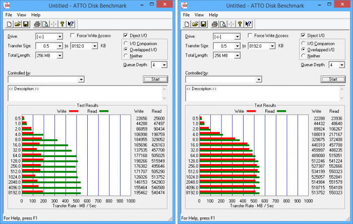 SpinRite before and after L2