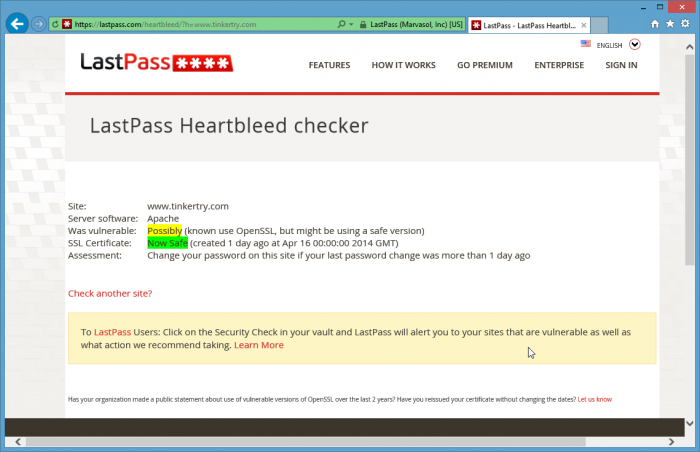 LastPass-Heartbleed-checker