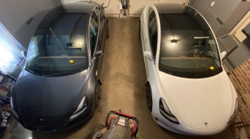Two-Tesla-Model-3s-garaged--TinkerTry