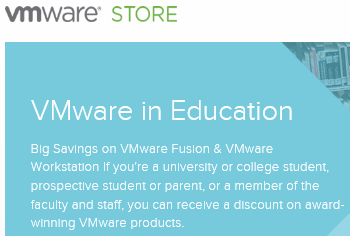 VMwareStoreAcademic