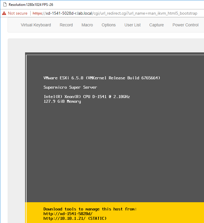 DCUI-showing-6.5-build-6765664-TinkerTry-2017-OCT-08