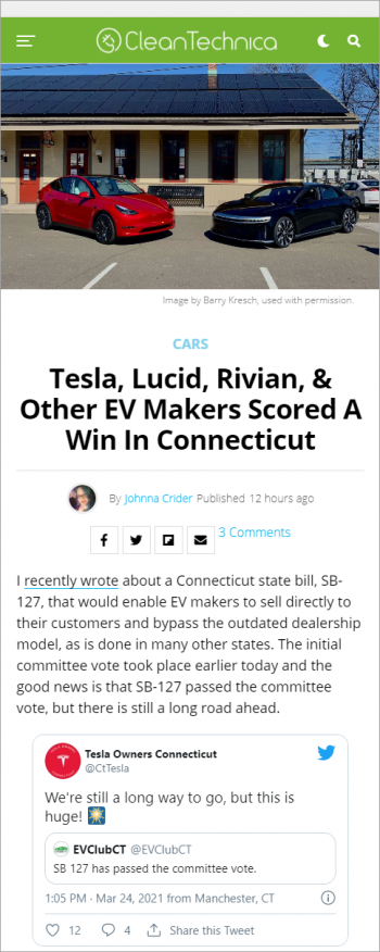 tesla-lucid-rivian-other-ev-makers-scored-a-win-in-connecticut