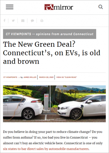 the-new-green-deal-connecticuts-on-evs-is-old-and-brown
