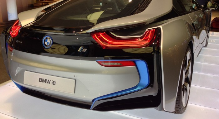 rear-view-of-BMW-i8