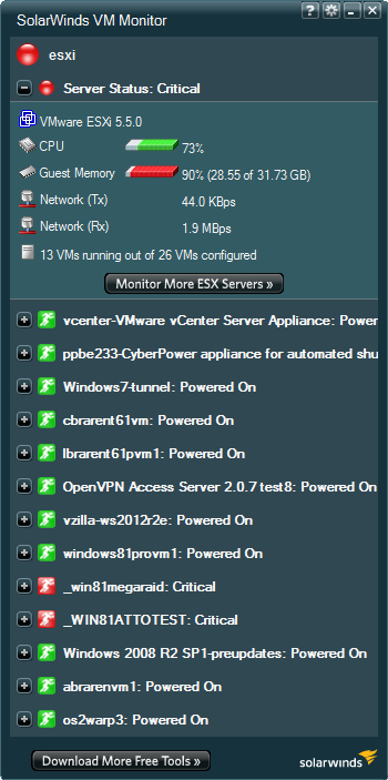 SolarWinds-VM-Monitor-showing-critical-memory-use-threshold-reached