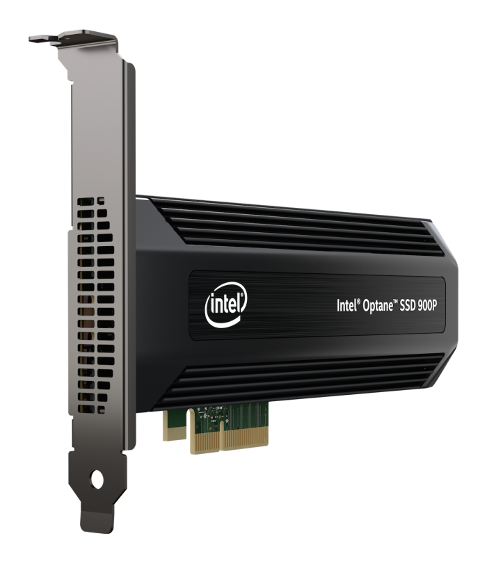 Intel Optane SSD 900P Series AIC - Left Angle