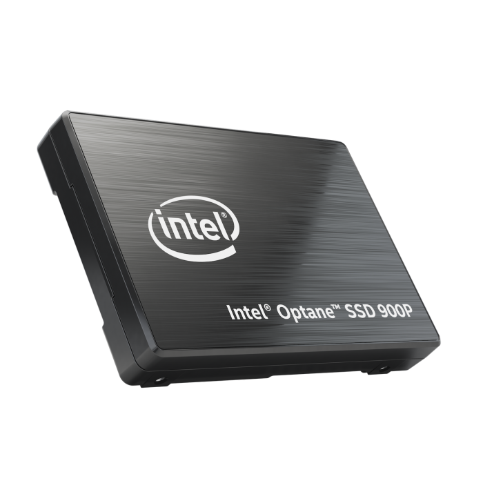 Intel Optane SSD 900P Series U.2 - Left Angle Tilt