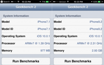 TinkerTry-iPhone6Plus-iPhone7Plus-Geekbench2.PNG