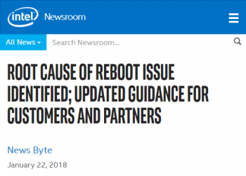 root-cause-of-reboot-issue-identified-updated-guidance-for-customers-and-partners