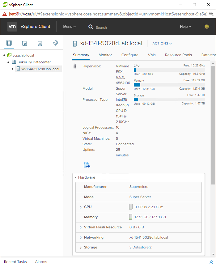 vSphere-client-html5-view-of-Xeon-D