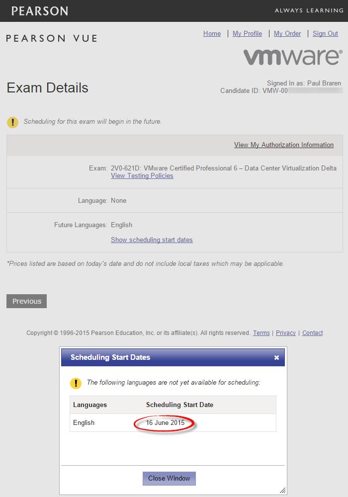 2V0-62-Delta-Exam-signup-Attempt-on-June-15-2015-shows-June-16-2015-signup