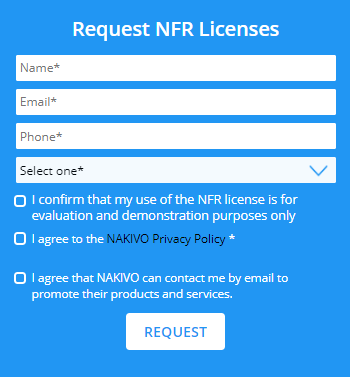 Request-NFR-Licenses