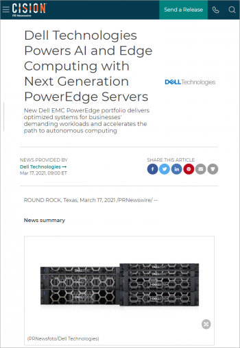 dell-technologies-powers-ai-and-edge-computing-with-next-generation-poweredge-servers-301249315