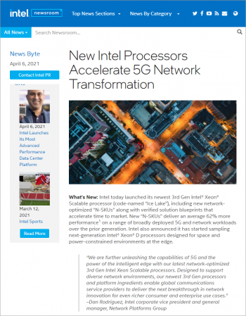 new-intel-processors-accelerate-5g-network-transformation