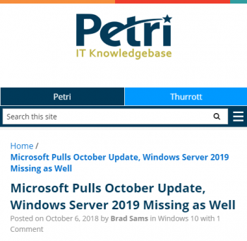 microsoft-pulls-october-update-citing-issues-with-content-deletion