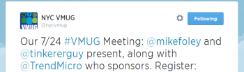 NYC-VMUG-tweet-about-Jul-24-2014