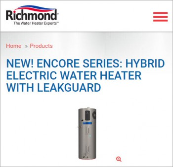 Encore-Series-Hybrid-Electric-Water-Heater-with-leakguard