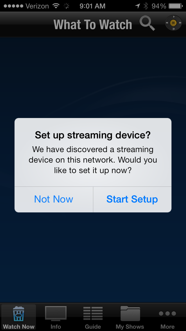 Set-up-streaming-device