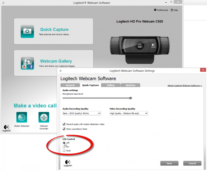 Turn-Off-LED-Logitech-Webcam-Software-Preferences-Quick-Capture-tab-set-LED-Control-to-Off-then-click-Save-button