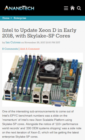 intel-to-update-xeon-d-in-early-2018-with-skylakesp-cores