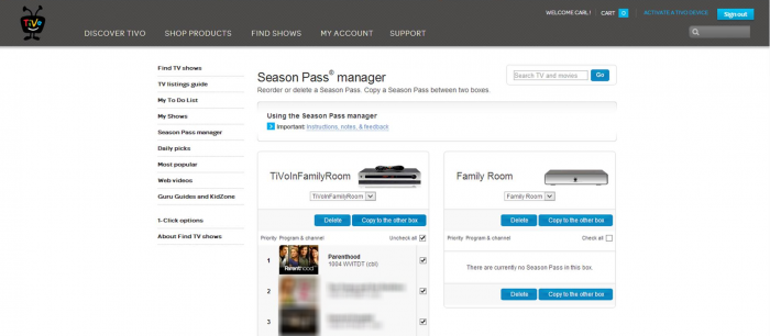 Season-Pass-manager