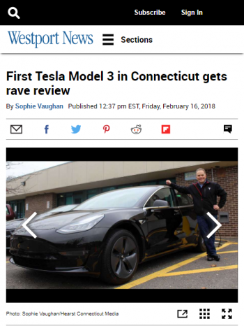 First-Tesla-Model-3-in-Connecticut-gets-rave-12619665