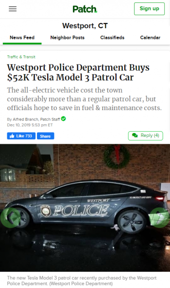westport-police-department-buys-52k-tesla-model-3-patrol-car