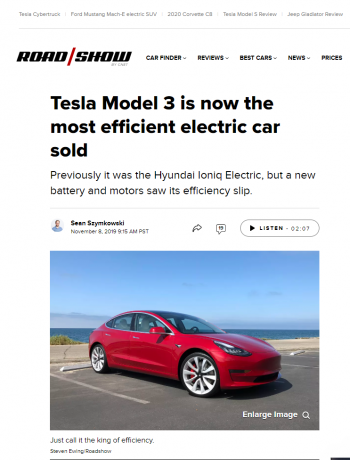 tesla-model-3-efficient-electric-car-hyundai-ioniq