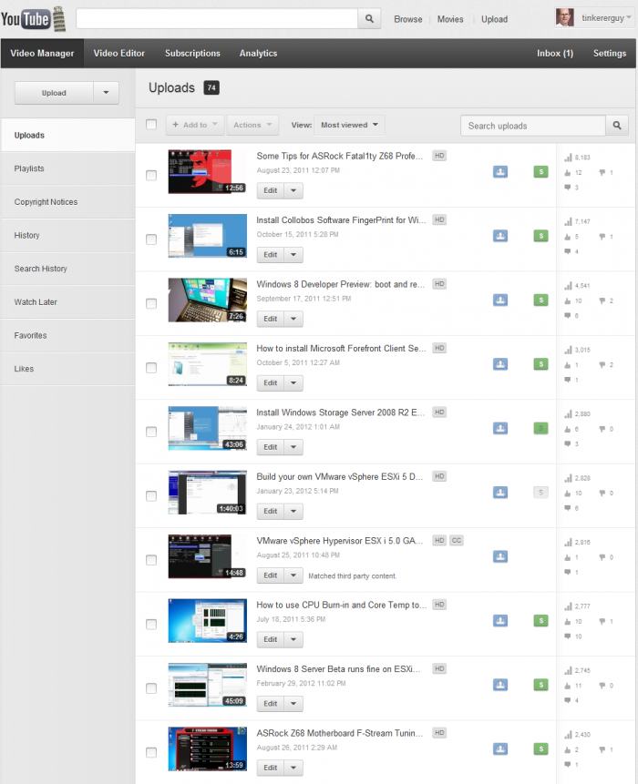 Top-10-YouTubeVideos-June-01-2011-to-May-31-2012