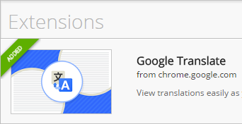 Google-Translate-Extension